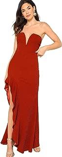 Best bandeau ruffle dress Reviews