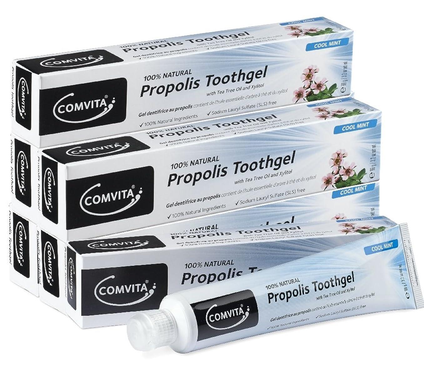 アレイ嘆くパンツプロポリス歯磨き コンビタ アピセラ歯磨き ジェルタイプ (90g × 6本セット) お得なセット ティーツリーオイル配合