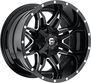 FUEL Lethal NB -BLK MIL Wheel with Painted (15 x 9. inches /5 x 114 mm, -18 mm Offset)
