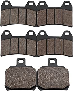Cyleto Front and Rear Brake Pads for APRILIA RSV1000R RSV 1000R Tuono 2002 2003 2004 2005 2006 2007 2008 / RSV 1000 R Mille 2000