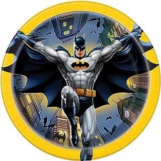 Unique Party 49905 - 23cm Batman Party Plates, Pack of 8