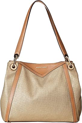 1bb72389bee6 MICHAEL Michael Kors Raven Large Shoulder Tote at Zappos.com