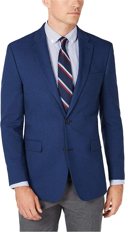Tommy Hilfiger Mens Trevor Two Button Blazer Jacket