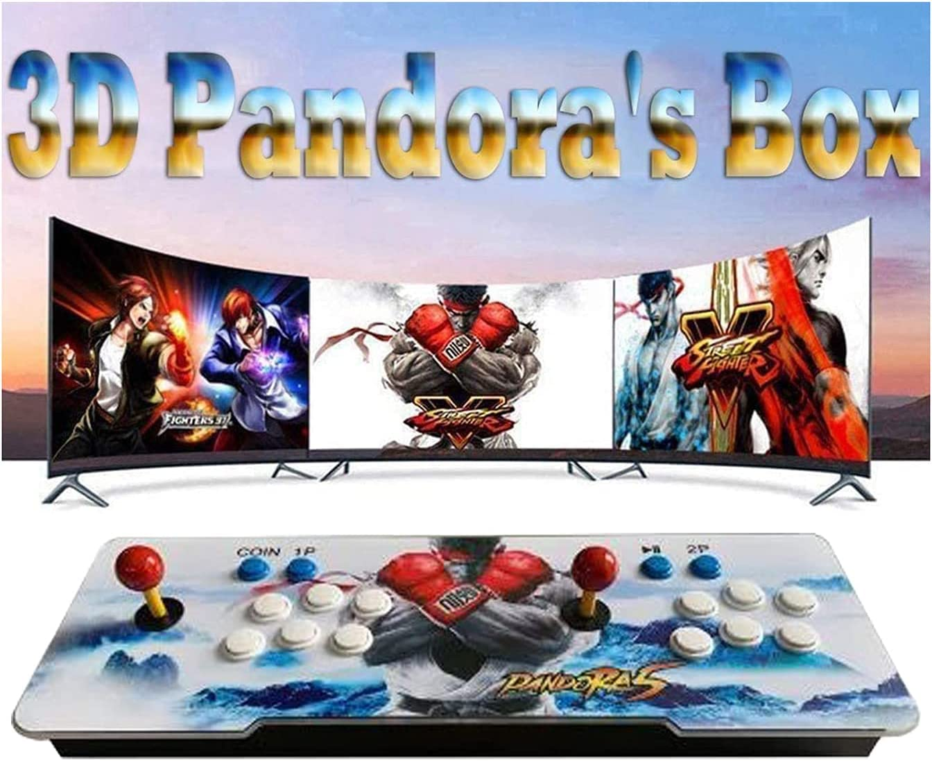 TANCEQI Pandora New Free Shipping Box 9s Video Games 4260 Console Arcade latest Built-in