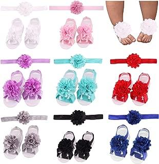 baby girl crochet barefoot sandals