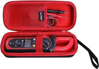 LTGEM Hard Case for Etekcity Digital Multimeter Amp Volt Clamp Meter Voltage Tester Red, MSR-C600