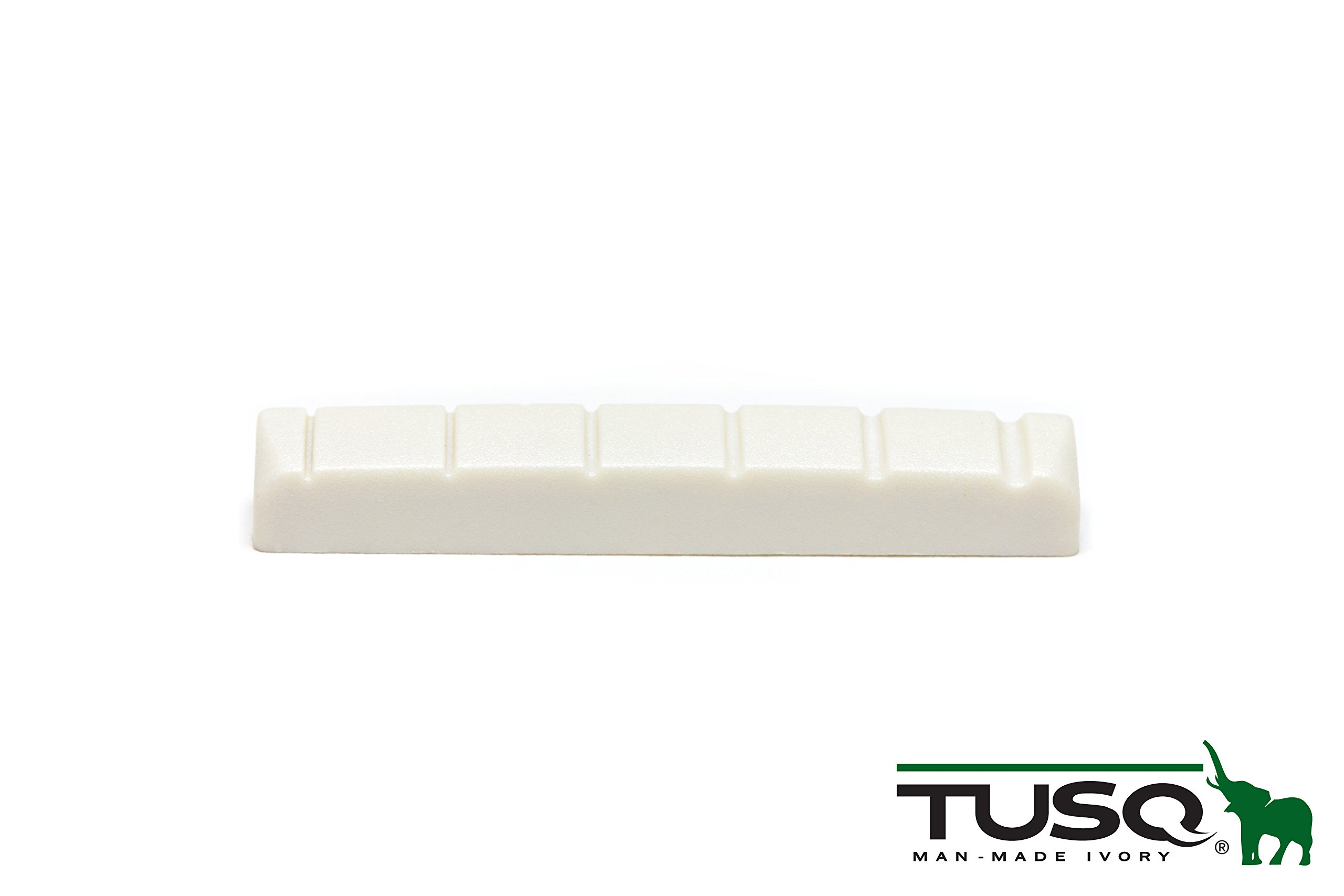 White Graph Tech TUSQ 1//4 Slotted Acoustic Guitar Nut