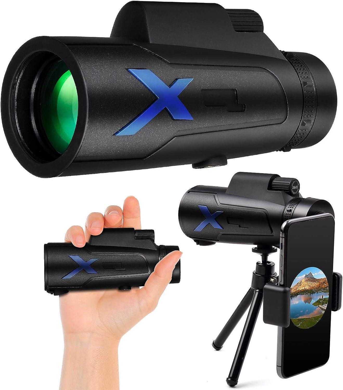 Long Beach Mall Monocular Telescope Rubber 12x50 High Waterproof FMC IPX7 Power New product!!