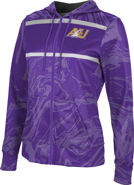 ProSphere Ashland University Girls' Zipper Hoodie, School Spirit Sweatshirt (Ripple)