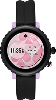 Women's Sport Touchscreen Aluminum and Silicone Smartwatch