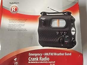 Radio Shack Emergency Am/fm Weatherband Crank Radio