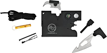 Tactical Credit Card Wallet Tool with Emergency Whistle and Gift Box