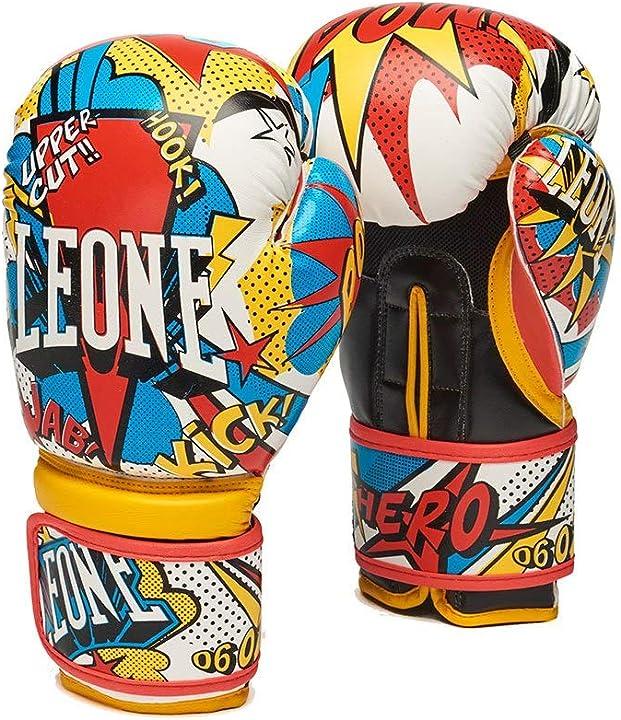 Guantoni boxe bambino  - leone 1947 - hero guanti boe junior hero guanti boe junior, unisex, bambino, 6oz GN400