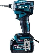 マキタ インパクトドライバ40VmaxTD001青 トルク220Nm 2.5Ahバッテリ2本・充電器付 TD001GRDX