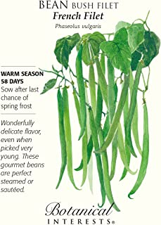Best french filet green bean seeds Reviews