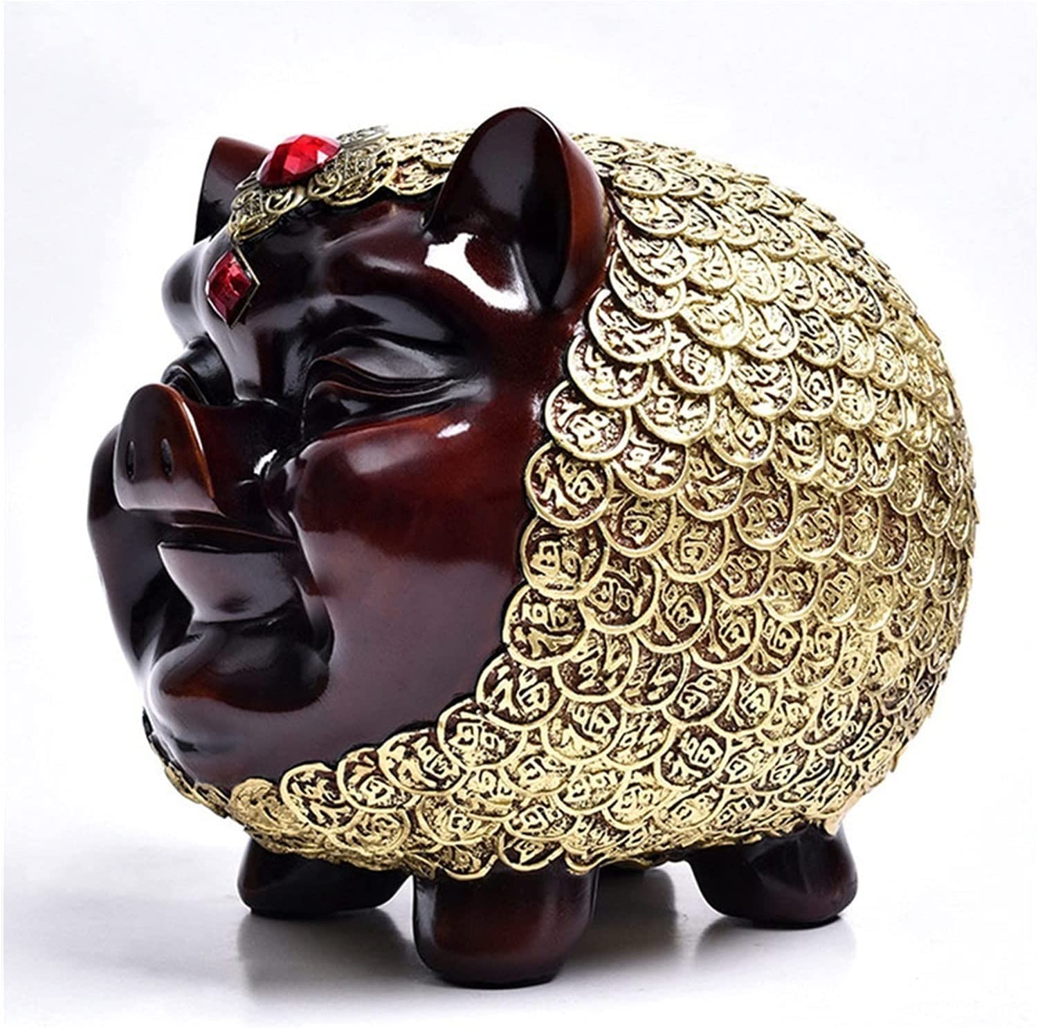 YYDMBH Piggy Bank Vintage Resin Special price for a limited time Fi Pig Box New mail order Money Coin