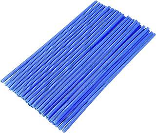 WINOMO Speichencover Speichen Überzug für Fahrrad Motorrad Rad Schutz 72pcs (blau)