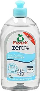 Frosch Zero lavavajillas pieles sensibles botella 500 ml