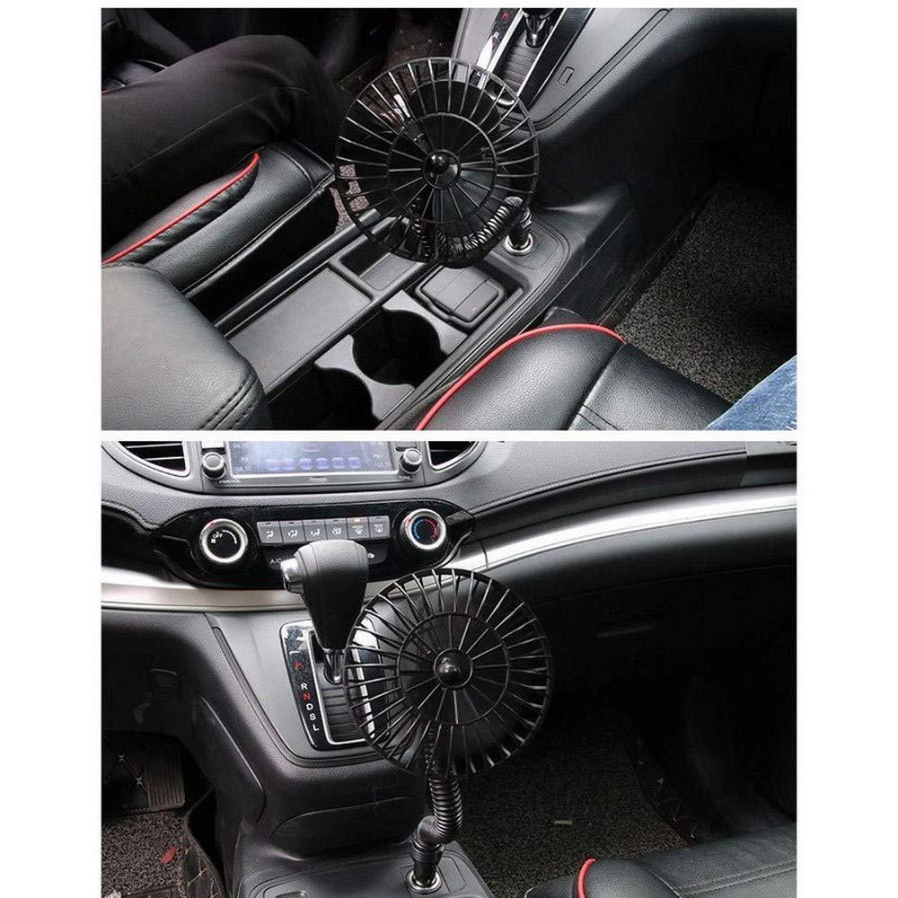 Changli Mini Ventilador de Aire de enfriamiento automático, 12 V ...