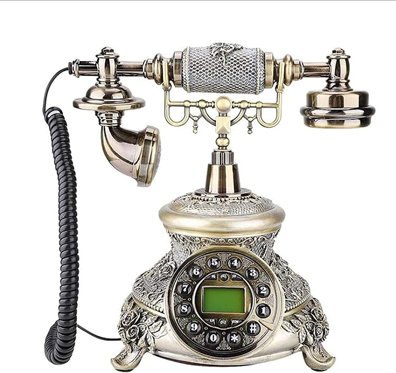 Old Fashioned Telephone Over item handling ☆ Home Hotel Retro Cable Decoration Challenge the lowest price Office