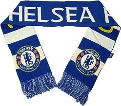 Rhinox Chelsea FC Official PREMIER LEAGUE 64 inch Team Logo Scarf by 045473