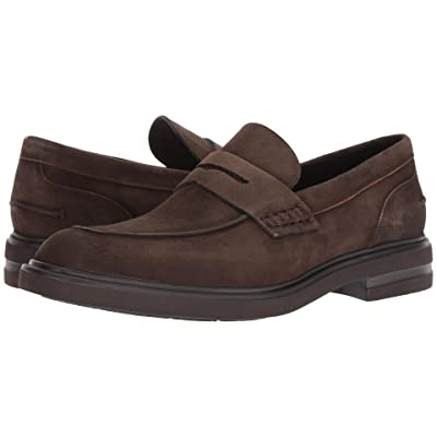 Donald J Pliner Edmund (Expresso Washed Suede) Men