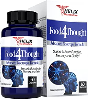 Brain Booster Support Supplement - Best for Mental Focus and Energy Pills - Super Ginkgo Biloba Capsules - St Johns Wort -...