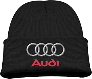 Audi Logo Winter Knit Cap Beanie Cap for Kids