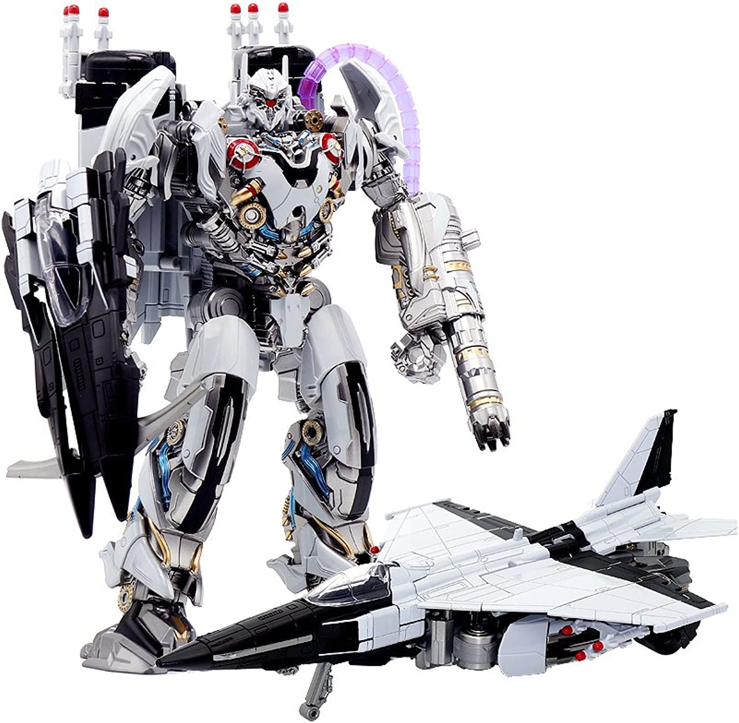 Transformer LS01 Nitro Zeus Plane Mode TF Movie KO Oversize Alloy Action Figure Robot Collection Toys Gift (with Original Box)