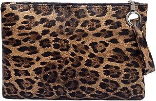 Everpert Clutch Purse Handheld Bag Pu Leather Wallet Messenger Bag Coin Purse