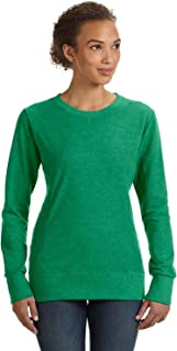 Anvil Womens Mid-Scoop French Terry (72000L) HEATHER GREEN