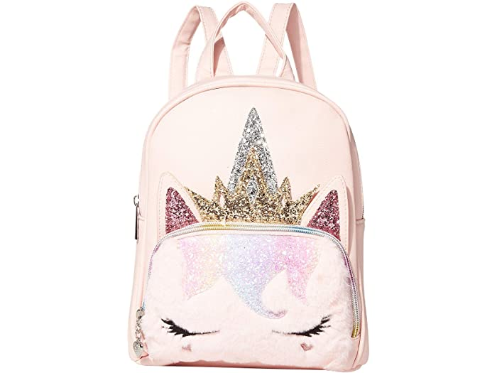 OMG Accessories Glitter Unicorn Mini Backpack Pink New