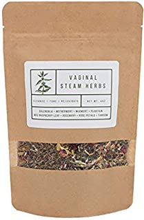 Yoni Steaming Herbs (5 Steams) | Cleanse, Tone, Rejuvenate | Formulated by Certified Practitioner | 100% Organic Vaginal Steam, V-Steam, Yoni Steam Herbs | V Steam Kit | Sold by Wildflower Wellness