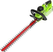 Greenworks Tools 2200907 accu heggeschaar G40HT (Li Ion 40V 61cm zaaglengte 27mm tandafstand 3000 sneden/min verstelbare e...