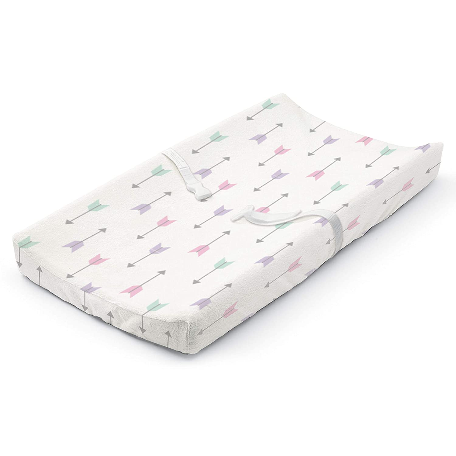 Summer Infant Ultra Plush Changing Pad Cover, Girly Arrows