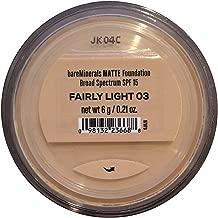 Bare Escentuals Bare Minerals Foundation Matte SPF 15 Fairly Light, Large, 1 Count