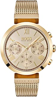 Hugo Boss analog Gold Dial Watch for Women - 1502425