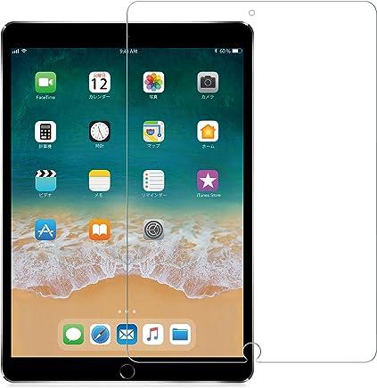 Nimaso iPad Pro 10.5 / iPad Air (2019) 用 フィルム 強化ガラス 液晶保護フィルム 高透過率 気泡ゼロ 指紋防止 硬度9H (透明)