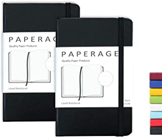 2-Pack Pocket Notebook Journal Notepad Small, College Ruled, 3.7