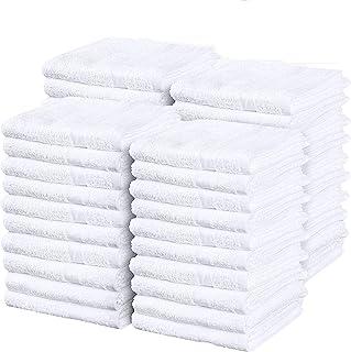 "Simpli-Magic 79118 Soft Plush Cotton Terry Towels 14""x17"", 60 Pack"