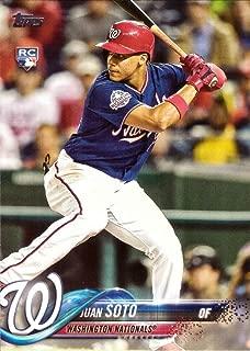 2018 Topps Update Baseball #US300 Juan Soto Rookie Card