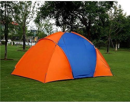 Gplveoq Grande Tente de Camping pour 5-8 Personnes