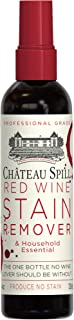Chateau Spill Red Wine Remover - 4 oz/120 ml Spray Bottle | Wine Stain Remover for Clothes | Fabric Stain Remover | Carpet Stain Remover | Gets The Red Out | Great Wine Accessories