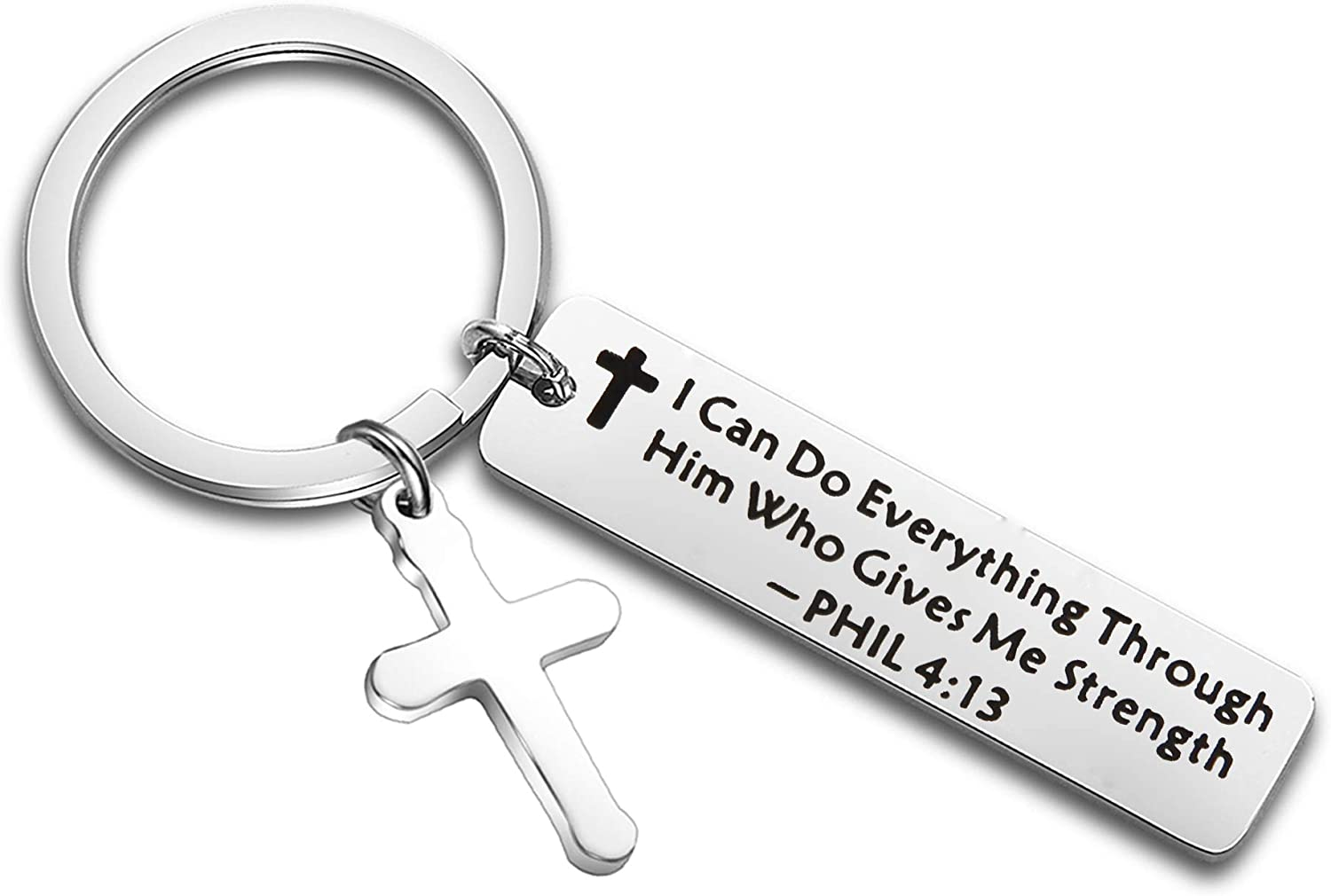 LQRI Christian Gifts All items free shipping I Can Do Through Everything Him M Gives Bombing free shipping Who