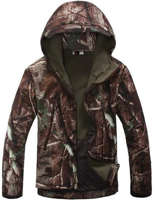 Fairyforest Camouflage Military Waterproof Windbreaker Raincoat Hunt Outerwear Tactical Jackets