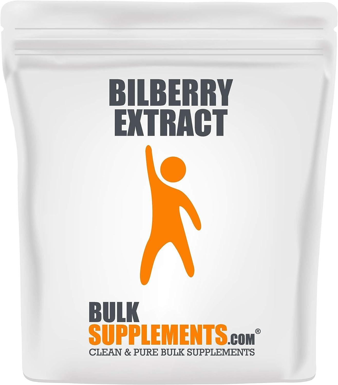 BulkSupplements.com Bilberry Extract Powder 5 Kilograms lb 11 Max trend rank 55% OFF -