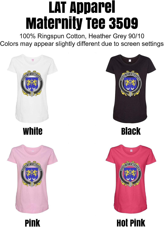 HARD EDGE DESIGN Women's Irish House Heraldry O'Meagher T-Shirt