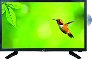 "SuperSonic SC-1912 LED Widescreen HDTV 19"", Built-in DVD Player with HDMI, USB, SD & AC/DC Input: DVD/CD/CDR High Resolution and Digital Noise Reduction"