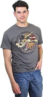 Mens WB Speed Genius Wile Coyote Grey Short Sleeve T-Shir