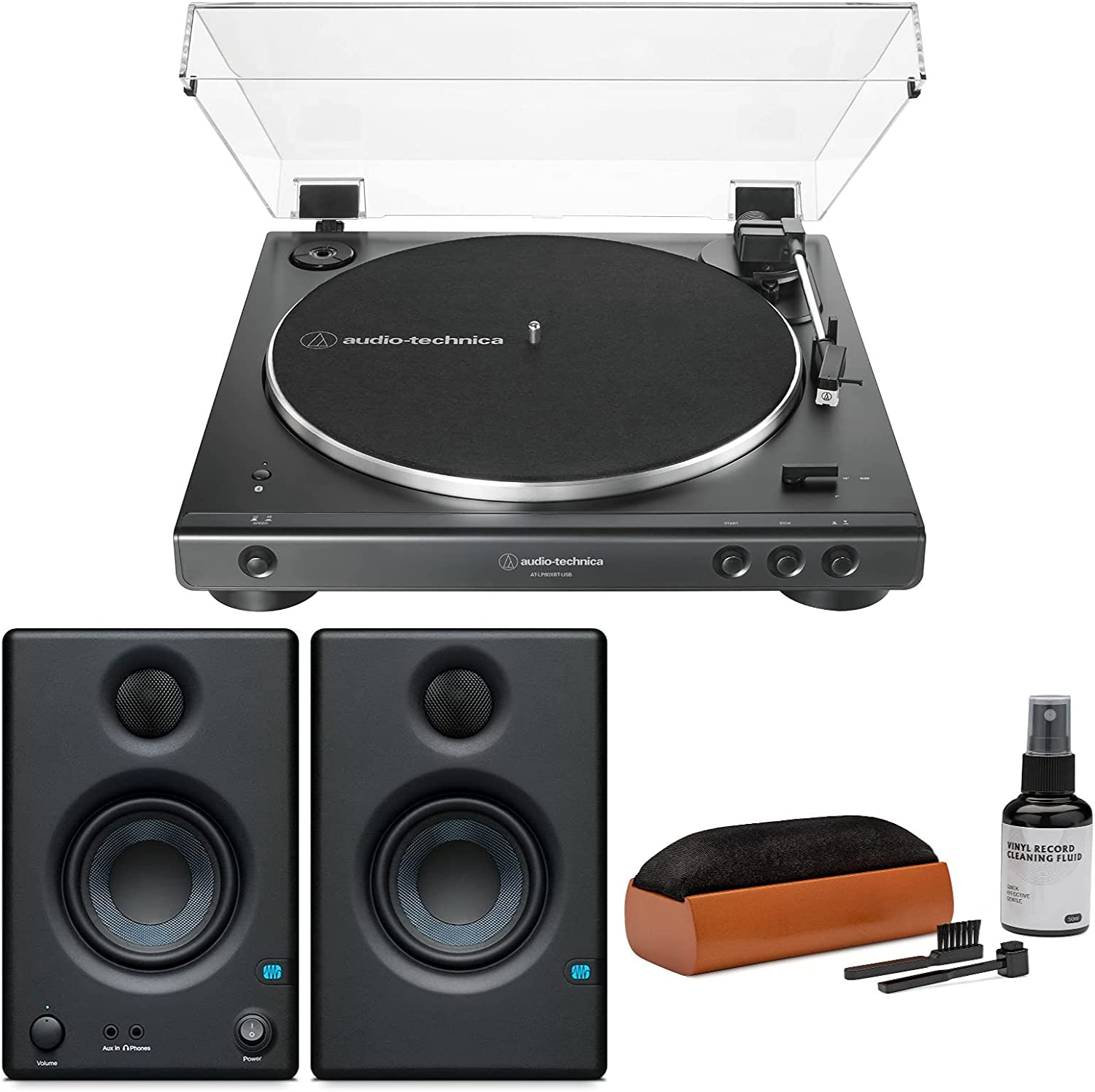 Audio-Technica Over item handling ☆ AT-LP60X Bluetooth USB Turntable New Free Shipping with Er PreSonus